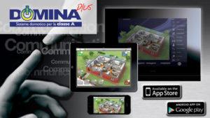 """Ave integra la nuova app """"DOMINAplus Controller"""" per ipad e iphone con la versione per android che consente la gestione e il controllo semplice e veloce del sistema domotico DOMINAplus"""