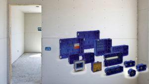Nuova gamma di scatole multifunzione da incasso per pareti cave