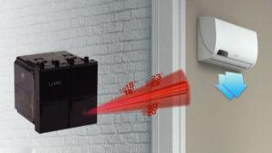 Nuova interfaccia domotica DOMINAPlus per climatizzatori e comandi IR