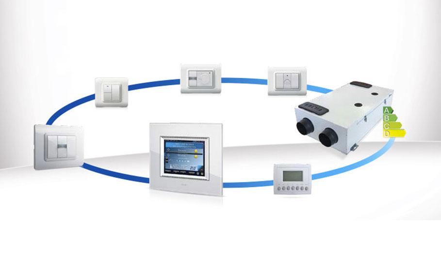 La ventilazione del futuro: la nuova interfaccia domotica per la VMC