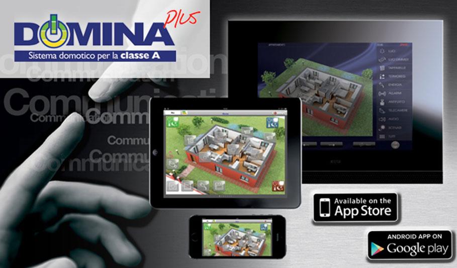 DOMINAplus CONTROLLER: un'applicazione per gestire il sistema domotico direttamente da smartphone e tablet