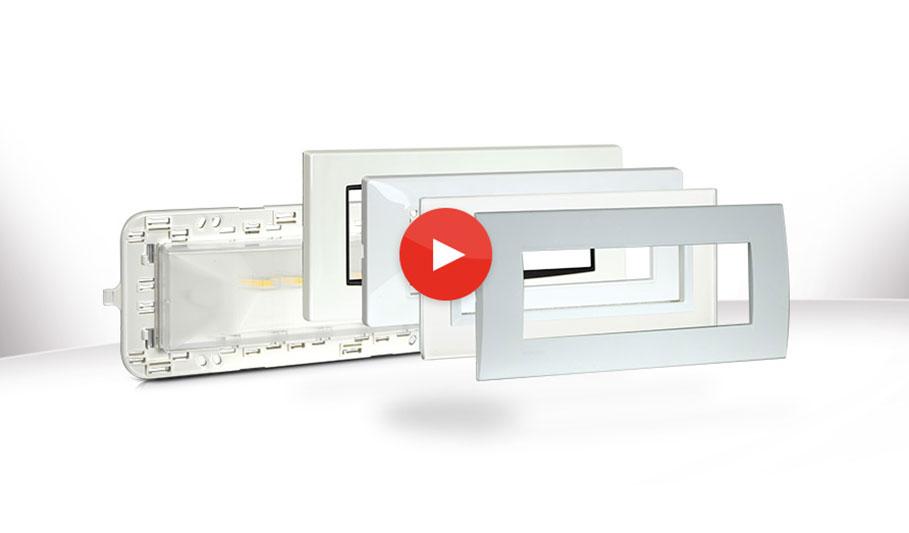 Video-presentazione dell'esclusiva Lampada di emergenza a LED multicompatibile