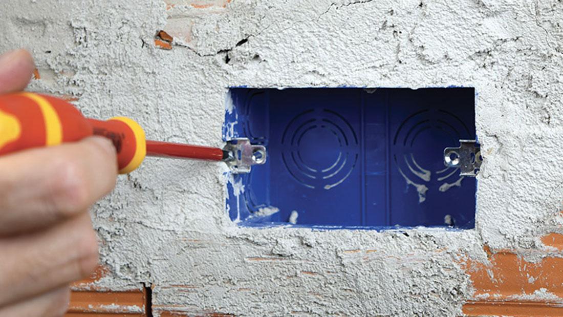 Tutorial installativo scatole da incasso RIVOBOX per pareti in muratura tradizionale