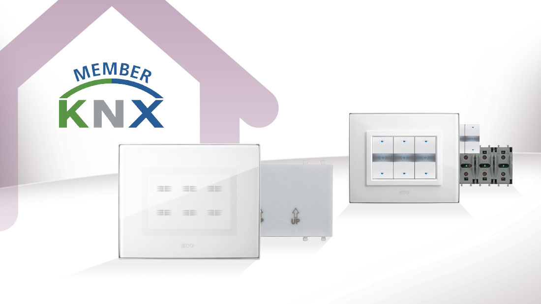 Domotica AVE certificata KNX: design e tecnologia si esaltano
