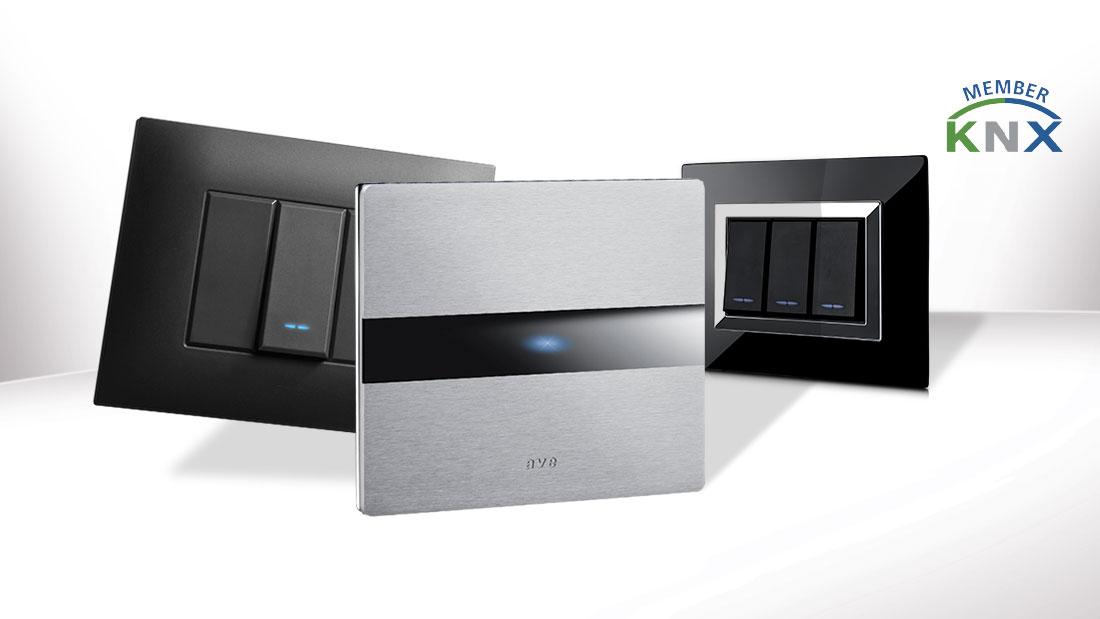Domotica: il design AVE veste la tecnologia KNX
