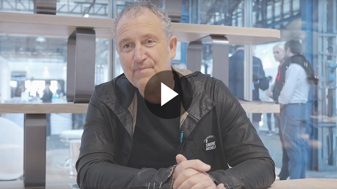 Video: Simone Micheli chooses AVE automation for Hotel Regeneration – Fuorisalone 2018