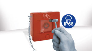 PE08 panel: the only one on the market with IP66 protection