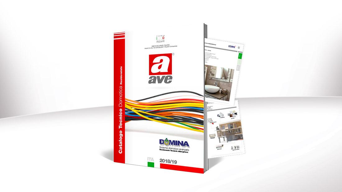 È online il nuovo Catalogo Tecnico Domotica 2018