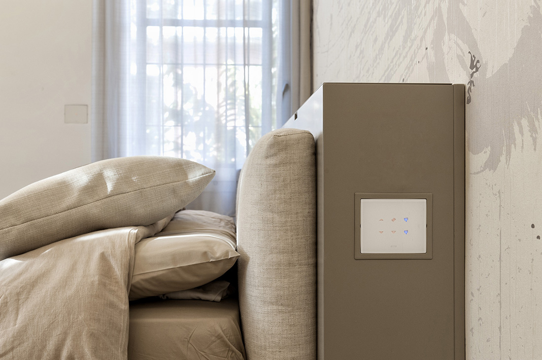 AVE home automation in an apartment in Bologna