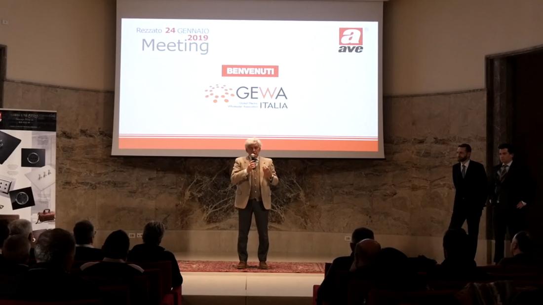Distributori alla scoperta della nuova AVE, protagonista del Meeting GEWA