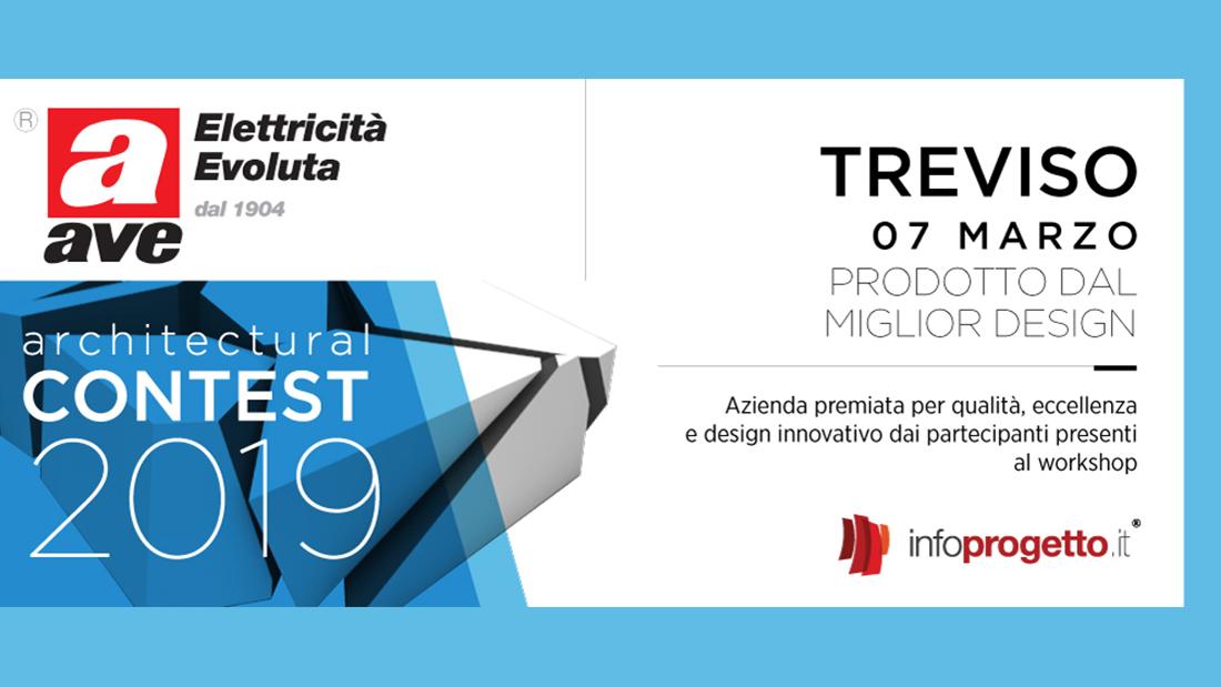 AVE premiata all'Architectural Contest di Infoprogetto.it per il prodotto dal miglior design