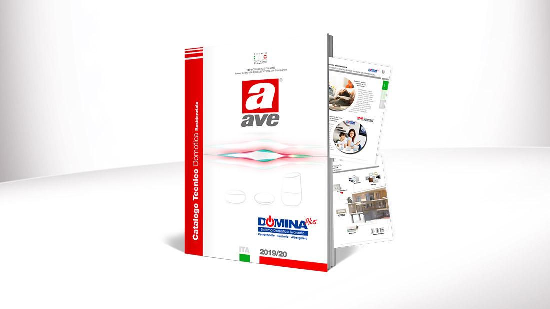 Domotica AVE per la smart home: scarica il nuovo Catalogo Tecnico 2019/20