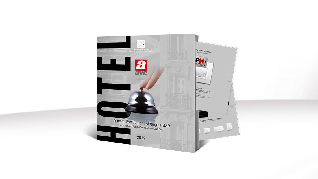 Domotica AVE per alberghi e B&B: scarica la nuova brochure di design e tecnologia