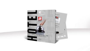AVE hotel automation: download the new design and technology brochure