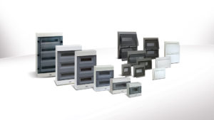 IP40 consumer units and wall mounted distribution boards