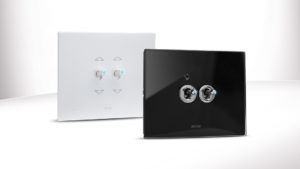 Now AVE toggle switches are available also with customizable front plate