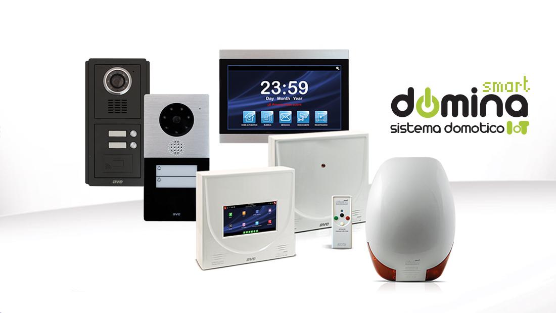 AVE DOMINA Smart: domotica, sicurezza e comunicazione ora in un'unica piattaforma integrata IoT ready