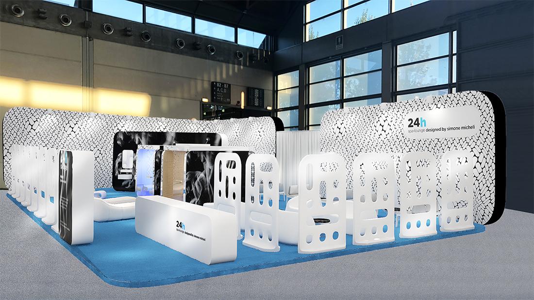 AVE a SIA Hospitality Design, protagonista della mostra 24h Spa-Lounge