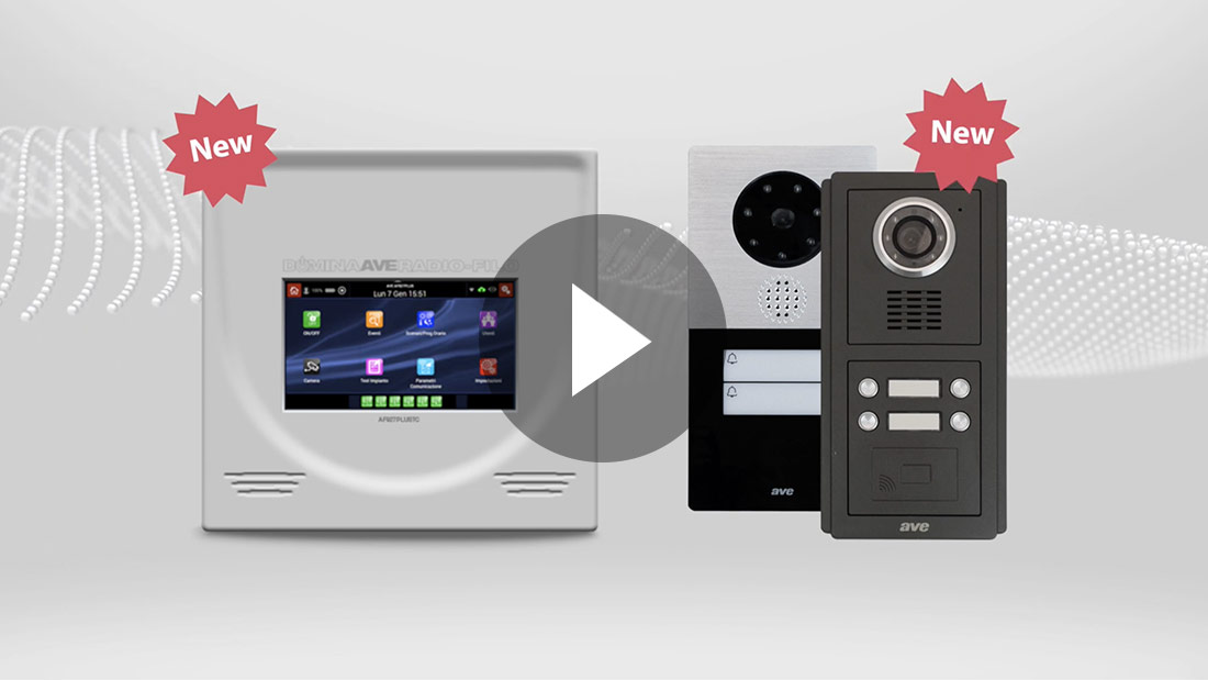 DOMINA Smart: antintrusione e videocitofonia, le grandi novità del sistema integrato AVE (Video)