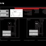 Pulsante elettronico touch con targhetta portanome 442TC88