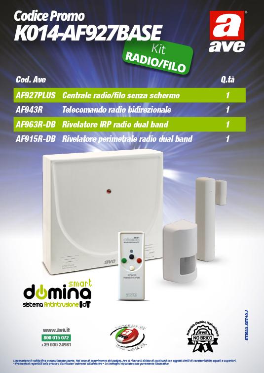 Kit Antifurto AVE K014-AF927BASE