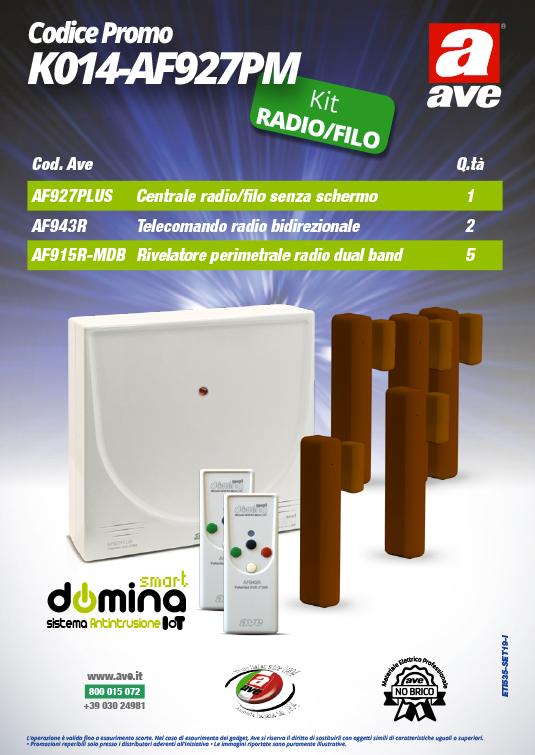 Kit Antifurto AVE K014-AF927PM