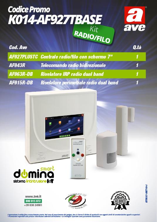 Kit Antifurto AVE K014-AF927TBASE