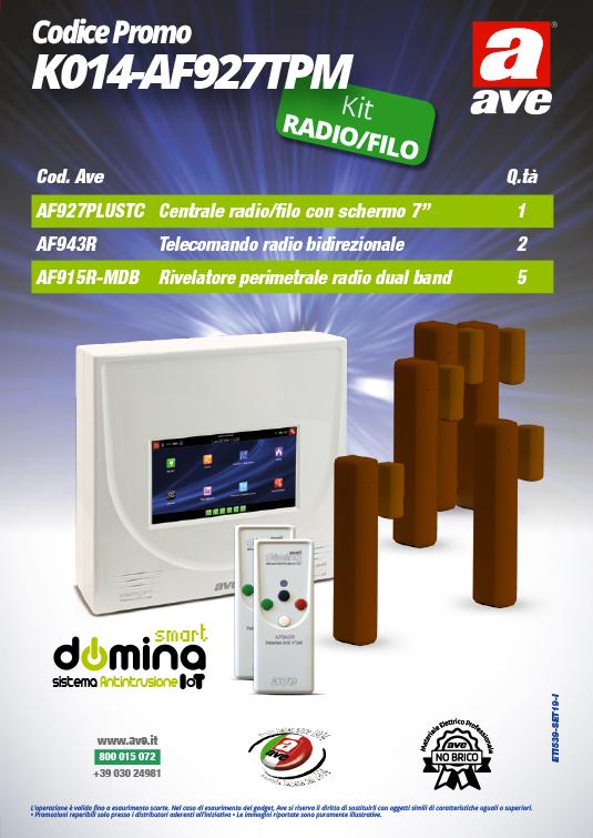 Kit Antifurto AVE K014-AF927TPM