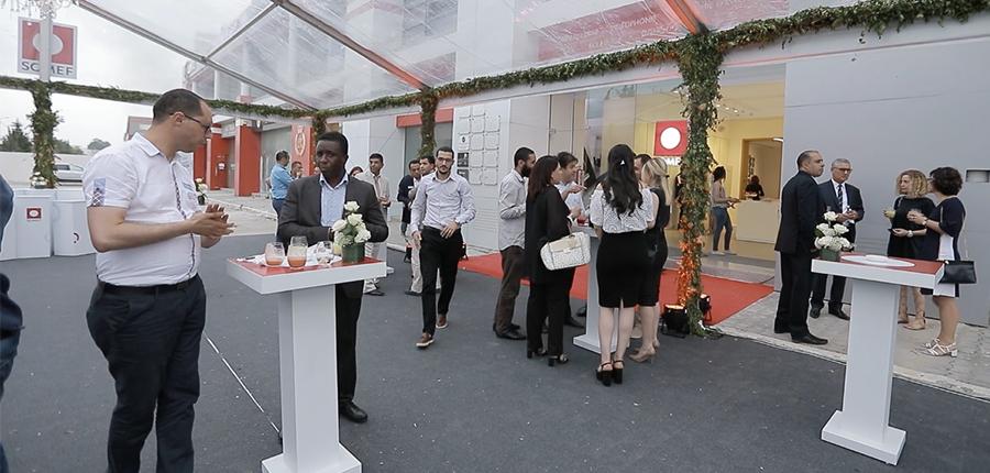 Inaugurazione Showroom SOMEF partner AVE Nord Africa