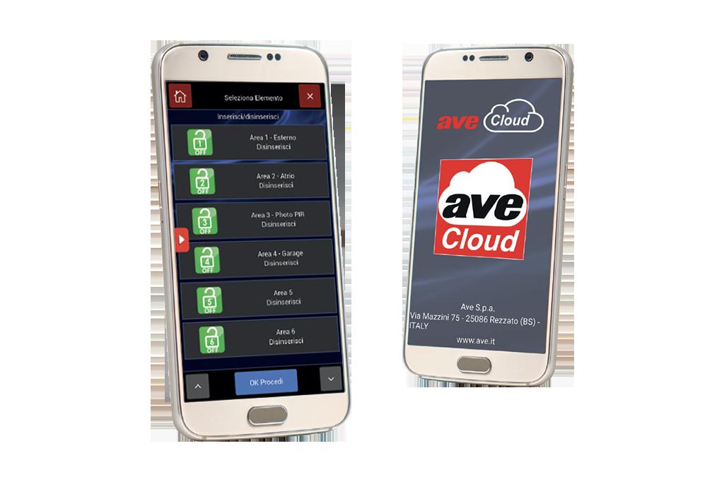 App per la gestione domotica - AVE-Cloud