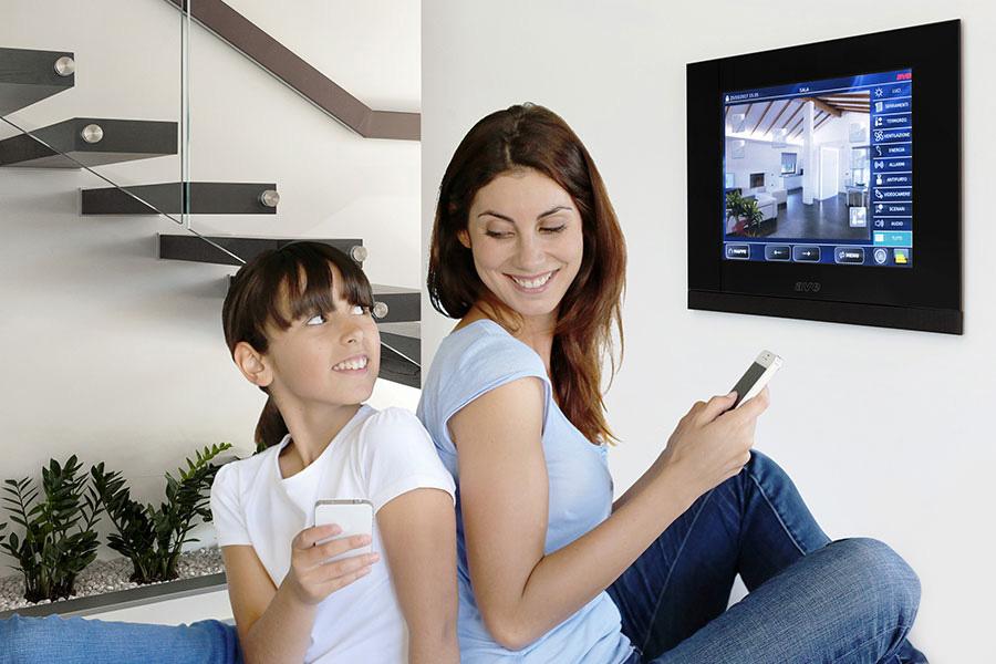 Smart home con assistente vocale