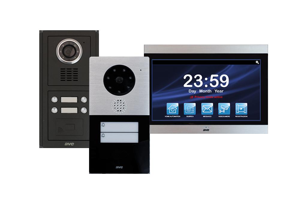 Videocitofono touch screen