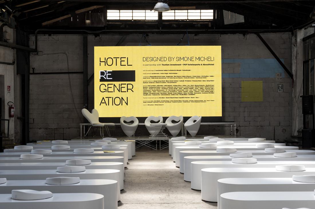AVE scelta per la mostra Hotel Regeneration - Fuorisalone 2018