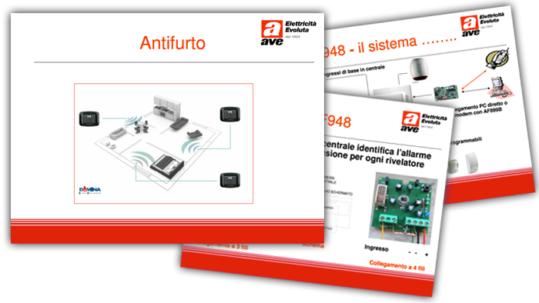 Presentazioni Tecniche - Antifurto