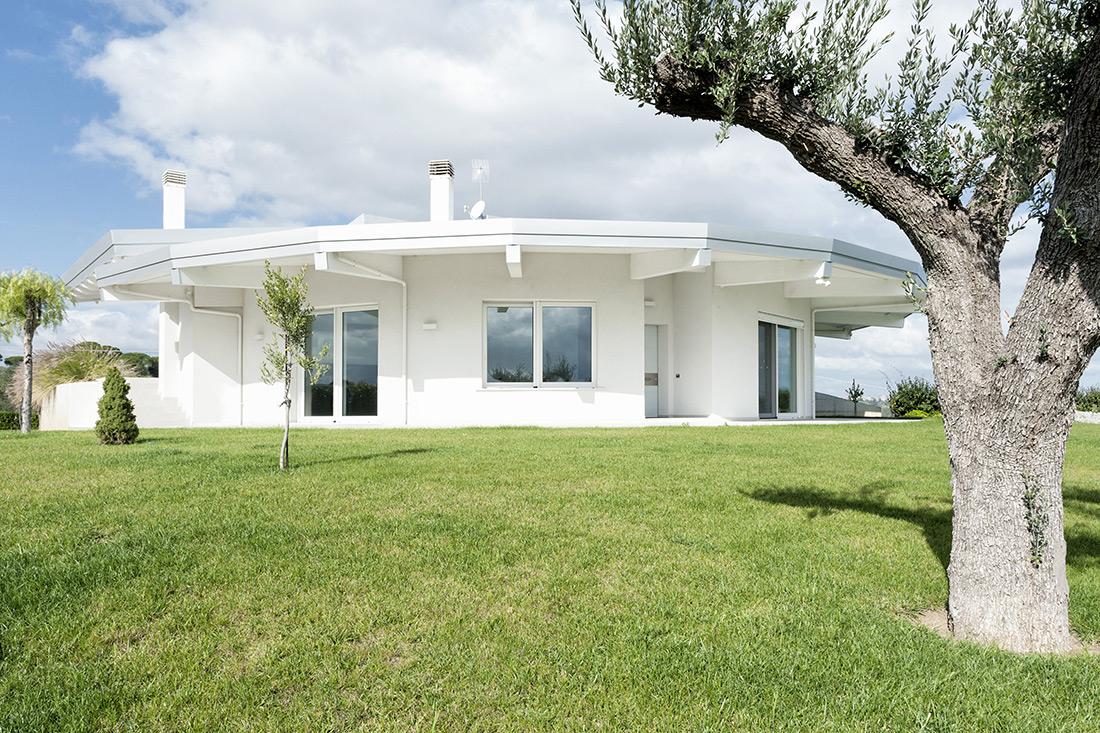 Casa domotica AVE esterno