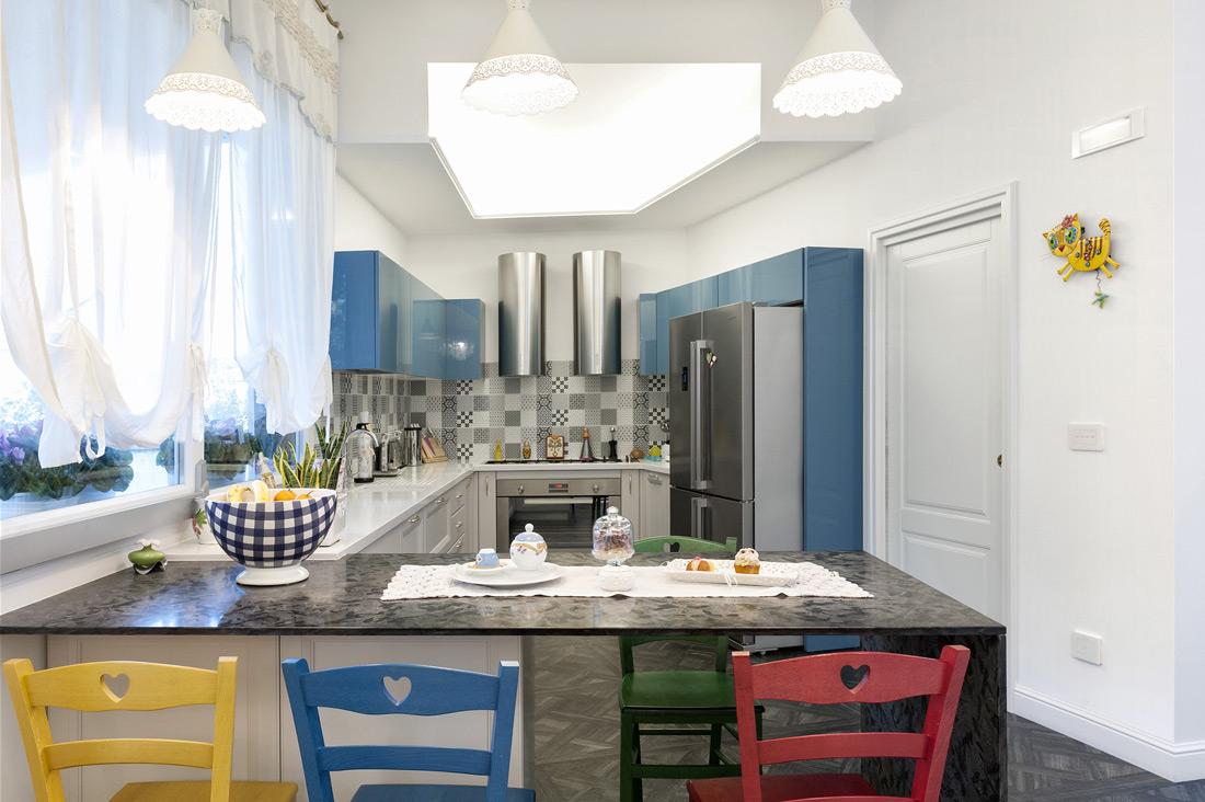 Casa domotica di design per gli interni