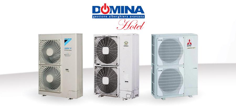 Climatizzazione Centralizzata con DOMINAHotel