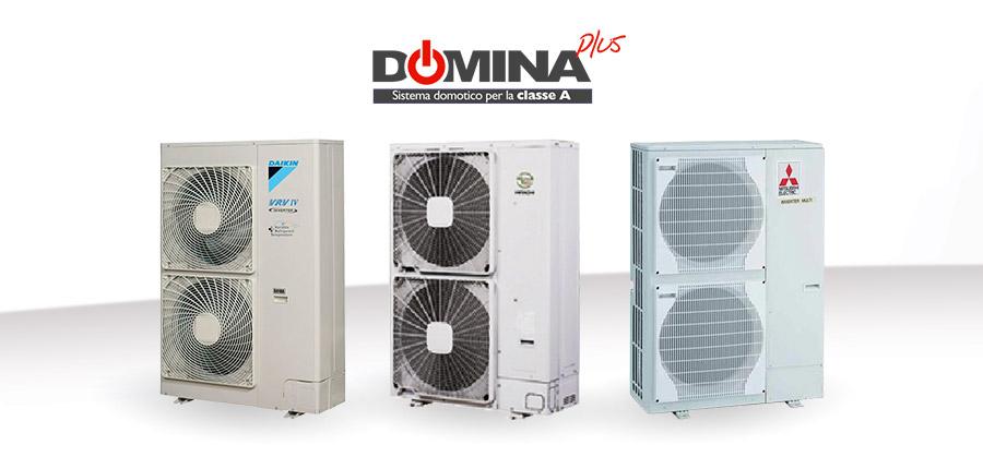 Climatizzazione Centralizzata con DOMINAplus