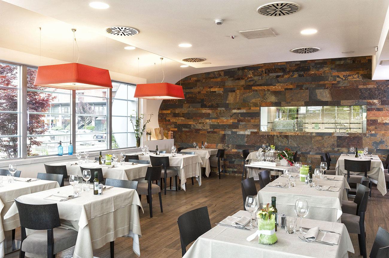 Design dell'impianto elettrico - Sala ristorante