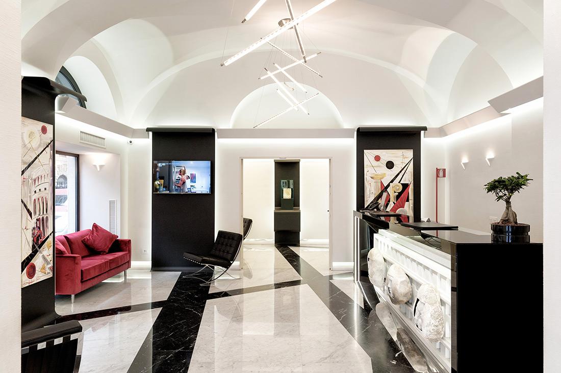 Domotica per hotel AVE al Gioberti Art Hotel di Roma