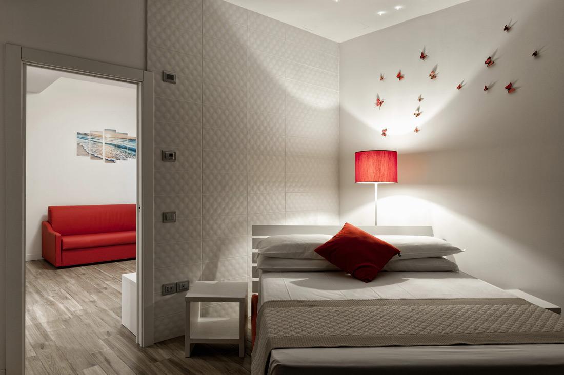 Impianto elettrico - Design per l'hotel AVE