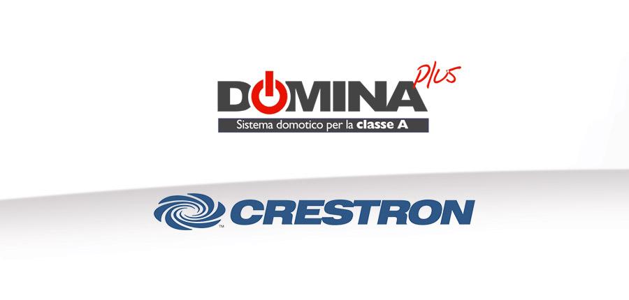 Integrazione Crestron DOMINAplus per System Integrator