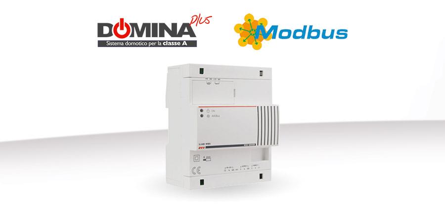 Integrazione Modbus DOMINAplus per System Integrator