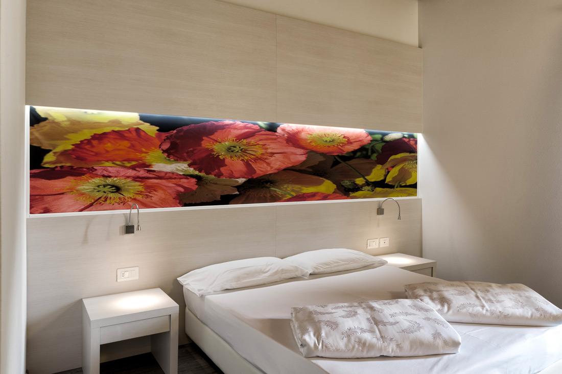 Interruttori bianchi per hotel AVE - Maso Santa Lucia