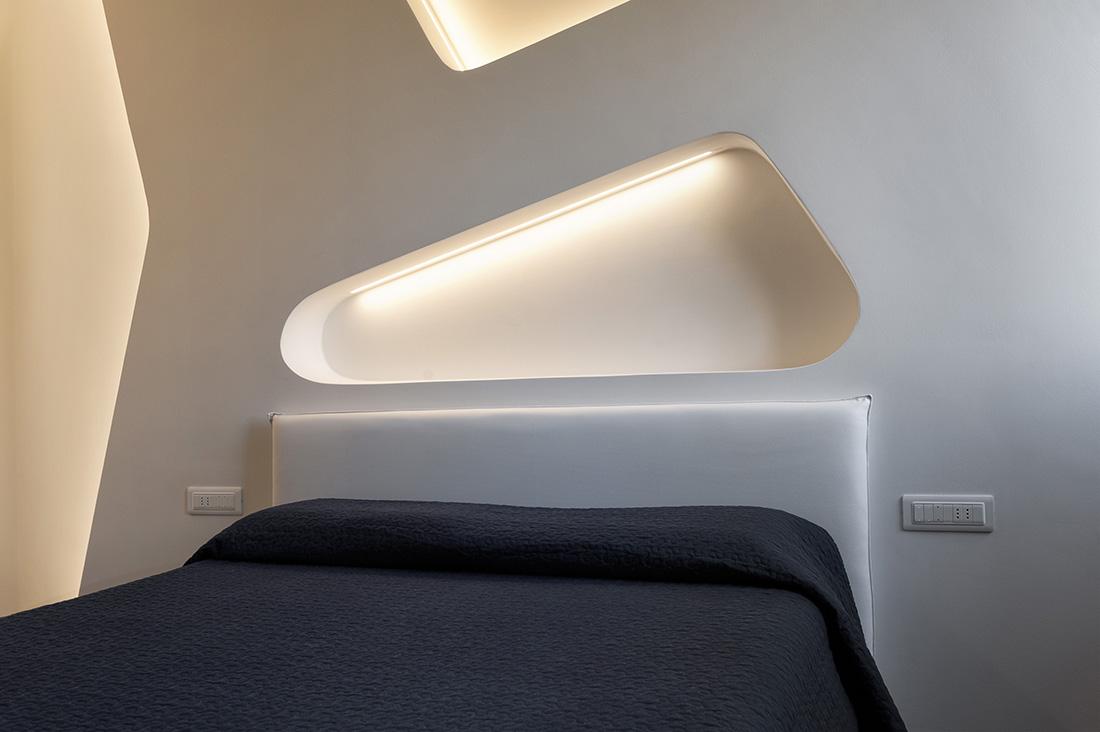 Interruttori per camera da letto AVE bianchi