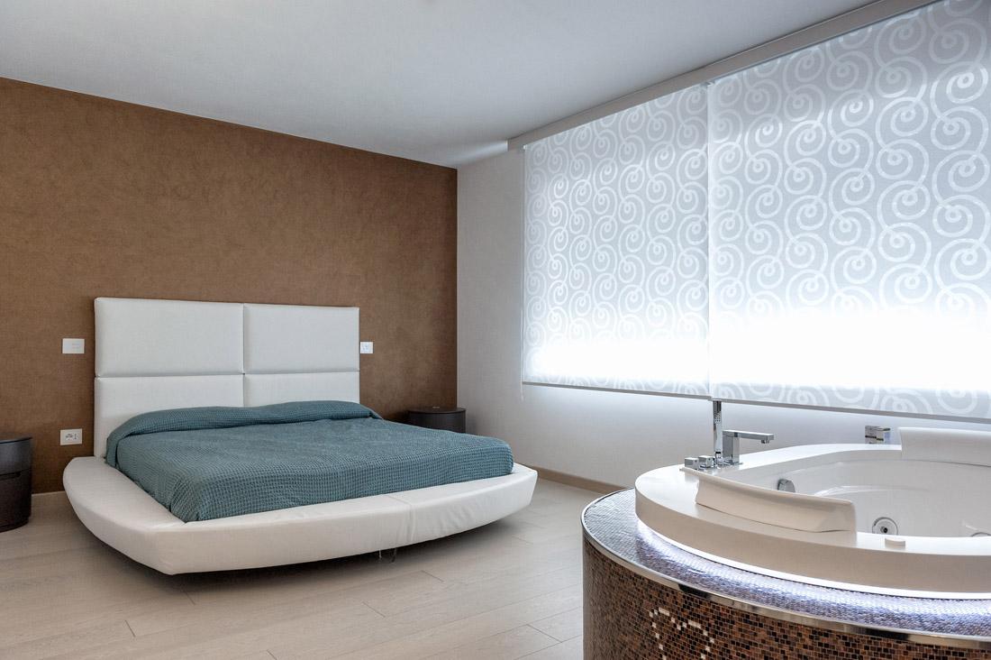 Interruttori domotica per la camera da letto