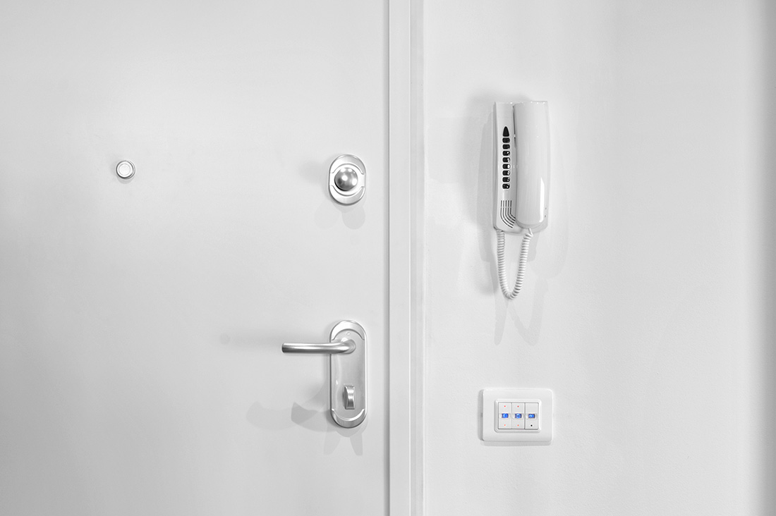 Interruttori elettrici di design AVE bianchi
