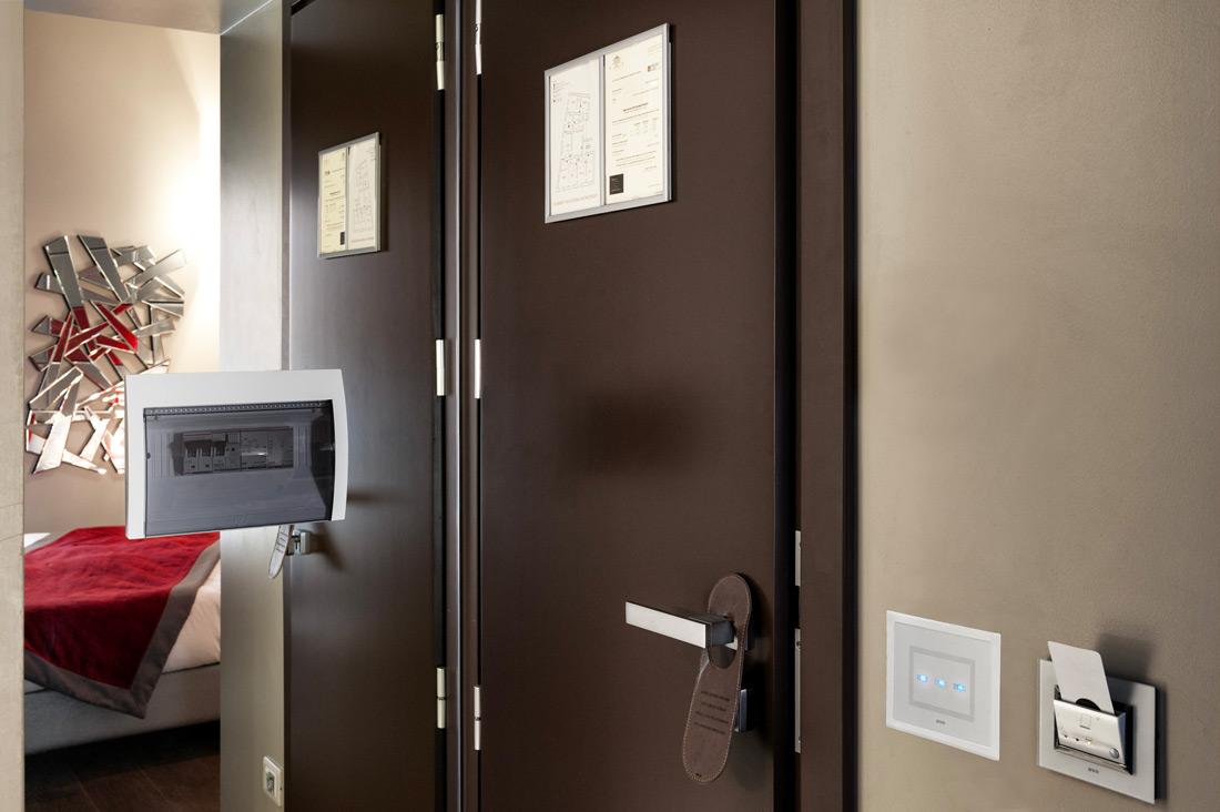 Lettore interno per hotel AVE - Torre Argentina Relais