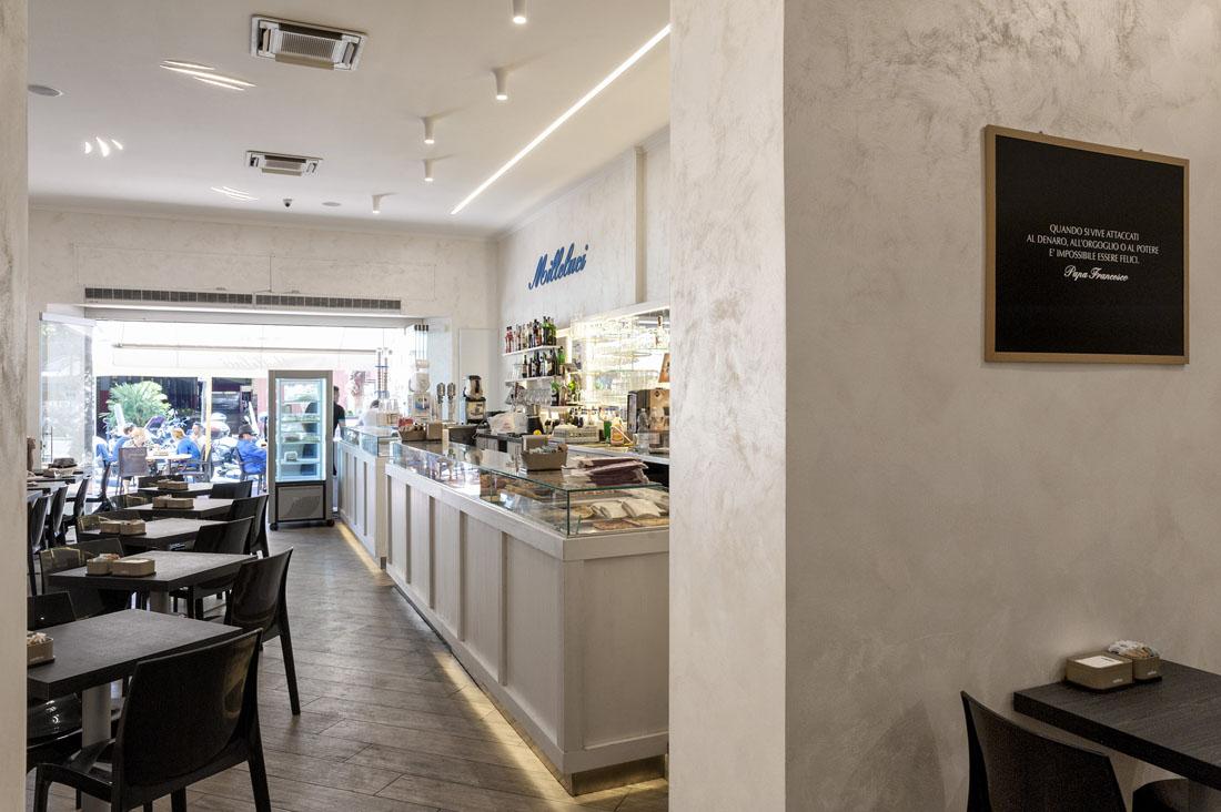 Lighting Design Bar Pasticceria Milleluci
