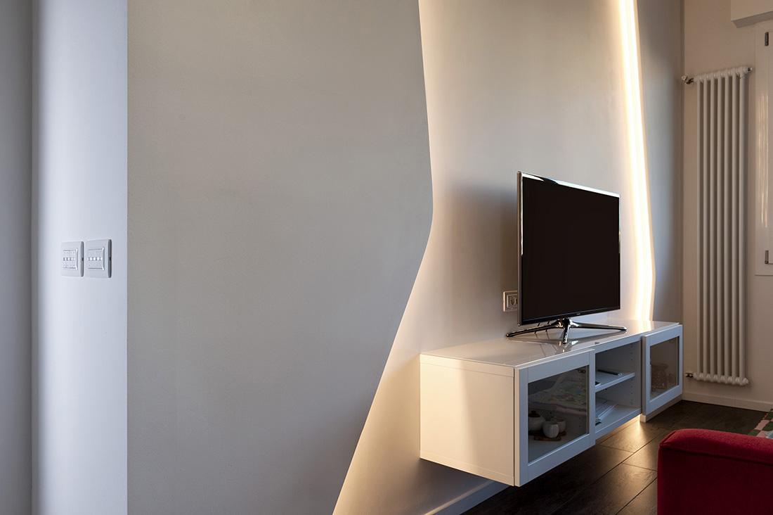 Presa TV bianca AVE
